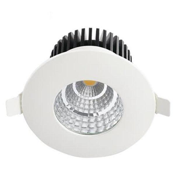Снимка на Луна за баня кръгла LED 6W 4200K IP65 бяла 220V