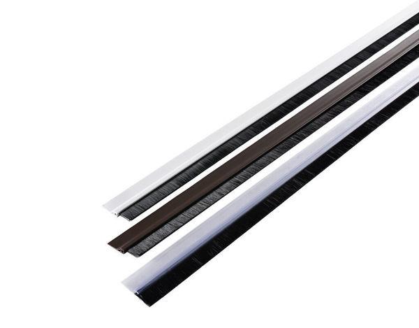 Снимка на Четка за врата PVC 40 мм х 1 м кафява