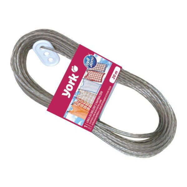 Снимка на Въже за дрехи с метални нишки 20 м 096820
