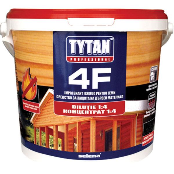 Снимка на Импрегнатор Tytan Professional 4F за дърво с 4 защити - 1кг.