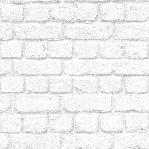 Снимка на Тапет дуплекс Бестселър 2 бели тухли сиво