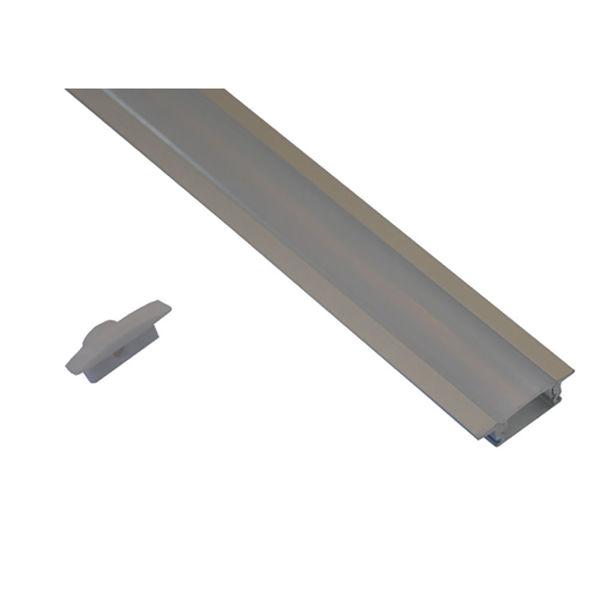 Снимка на Профил алуминиев за вграждане - мат - 1м.