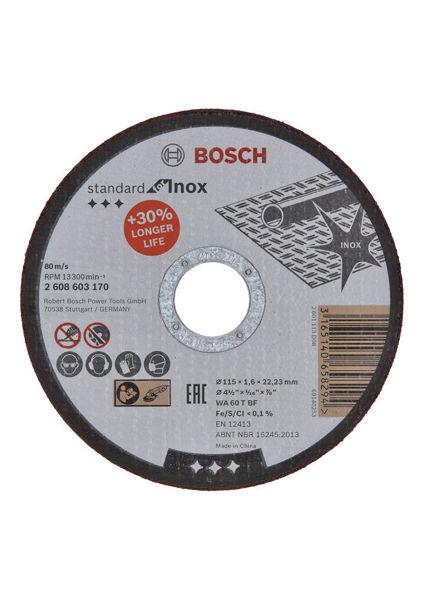 Снимка на Диск за рязане AS 46 INOX BF 125 мм 22.23 мм 1.6 мм
