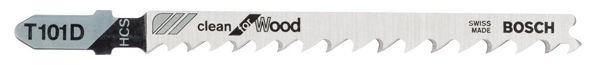 Снимка на Ножче за прободен трион T 101 D 100x4-5.2 мм.