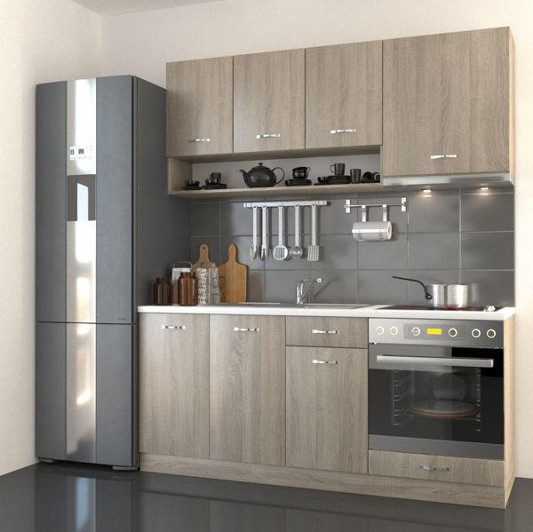 Снимка на Кухня Габриела 180 см - 9 модула