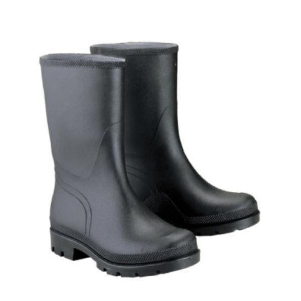 Снимка на Ботуши PVC водозащитни черни - 28 см - №42