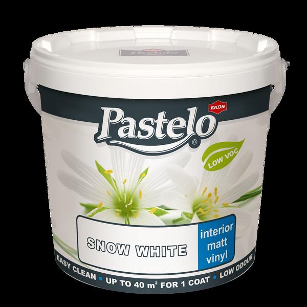 Снимка на Боя латексна Пастело - бяла - 2.5л.