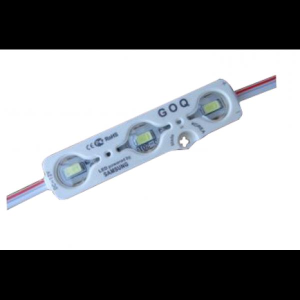 Снимка на LED модул - зелен SMD5730 1.2W 165lm IP68 - 5 бр.