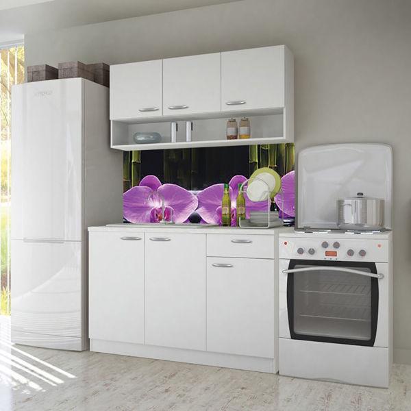 Снимка на Кухня Роси 160 см - цвят бяло - ПДЧ 16мм.