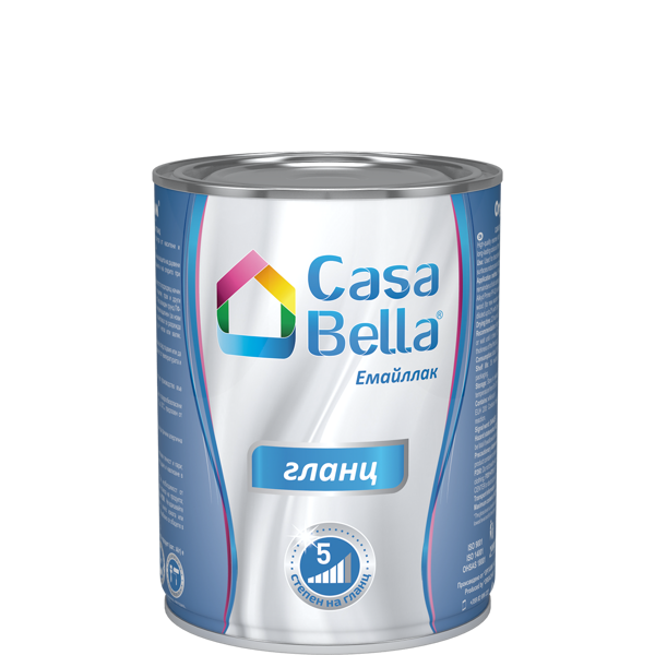 Снимка на Емайллак алкиден Casa Bella RAL 3020 650 мл.