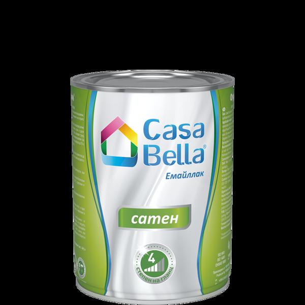 Снимка на Боя алкидна Casa Bella сатен Тъмно кафява 650 мл.
