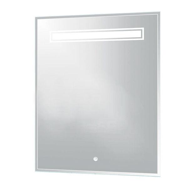 Снимка на Огледало с фасет и LED осветление 53х70 см. №LED 1