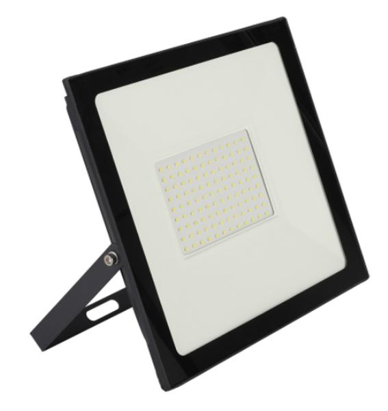 Снимка на Прожектор LED черен 50W 4500Lm 4000K IP65 - 21см