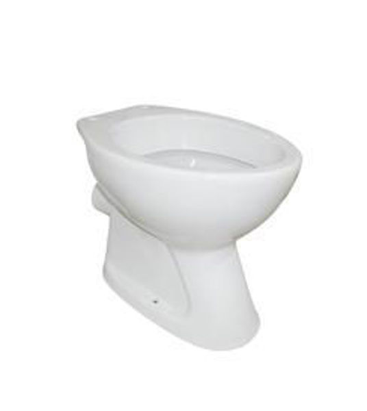 Снимка на Тоалетна чиния стояща CLASSICA 2.0 ХО бяла