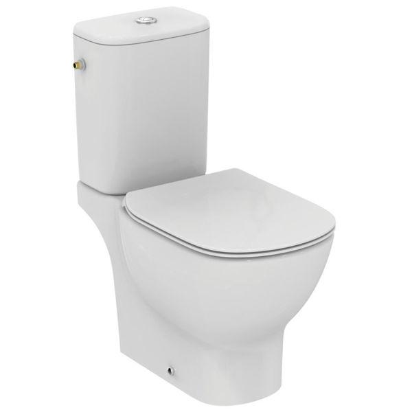 Снимка на T033601 WC Комплект  TESI Aqua Blade СВ ХО сед. с плавно затв.