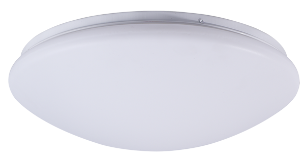 Снимка на Плафониера LED бяла 24W 4000K 1920lm IP44 ф28cm
