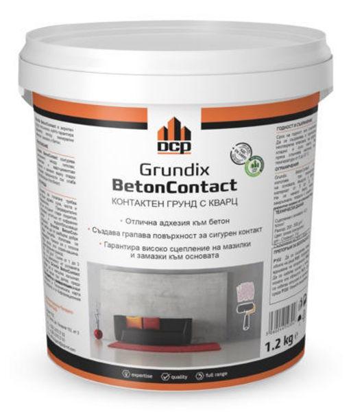 Снимка на Грунд Grundix Betoncontact - 1.2 кг.