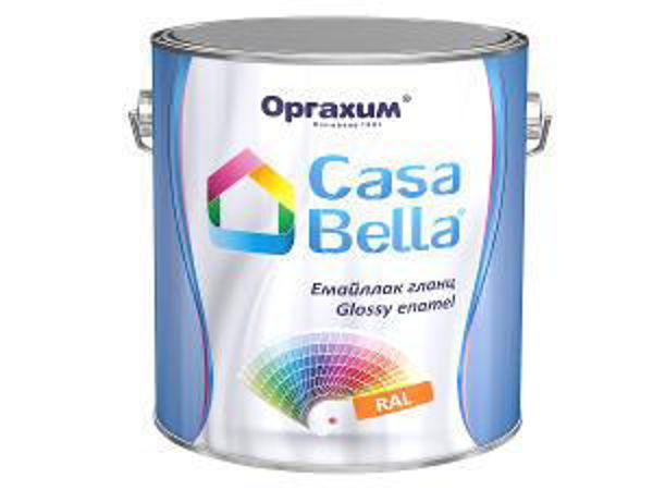 Снимка на Емайллак гланц Casa Bella RAL 9005 2.5л.