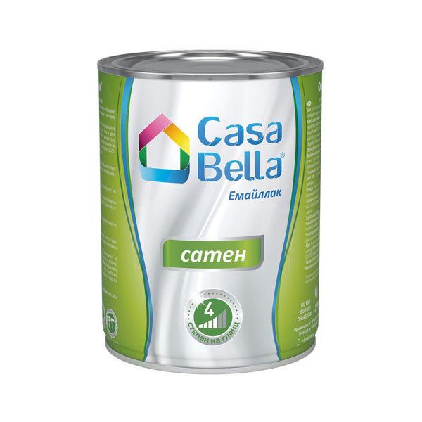 Снимка на Боя алкидна Casa Bella сатен Бяла 2.5л.