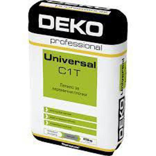 Снимка на Лепило Universal C1T за плочки 25кг.
