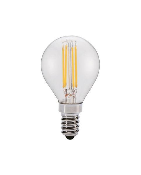 Снимка на Крушка 6W LEDISONE-2 CLEAR 2700К G45 E14 624Lm филамент