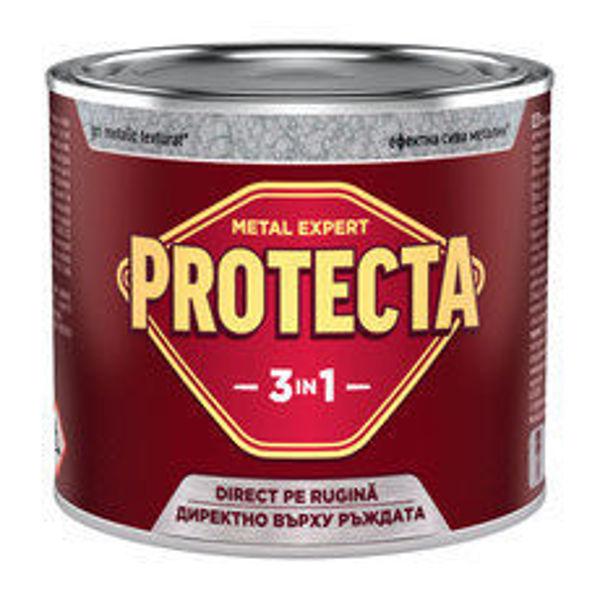 Снимка на Протекта 3 в 1 ефектна сива металик 0.5л.