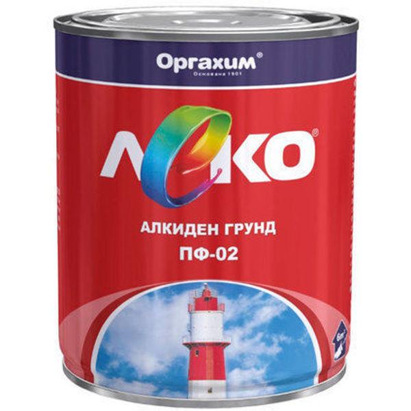 Снимка на Грунд алкид.ПФ02 окс.червен 0.900 кг