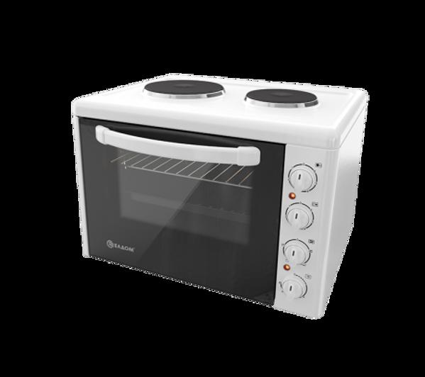 Снимка на Готварска печка малка ELDOM 203VFЕ 3400W Бяла