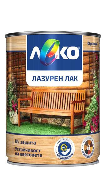 Снимка на Лак лазурен Леко тик - 650 мл