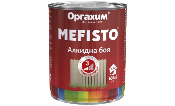 Снимка на Боя алкидна Mefisto RAL 5015 650 ml