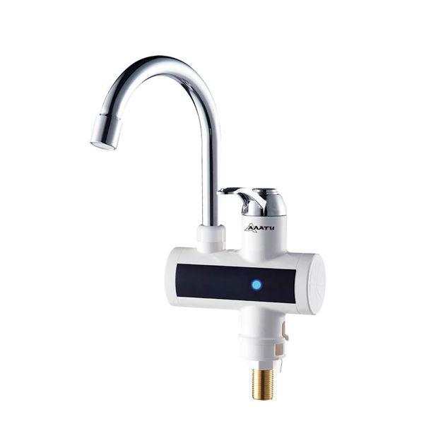 Снимка на Смесител с проточен водонагревател АЛАТИ SS304T стоящ