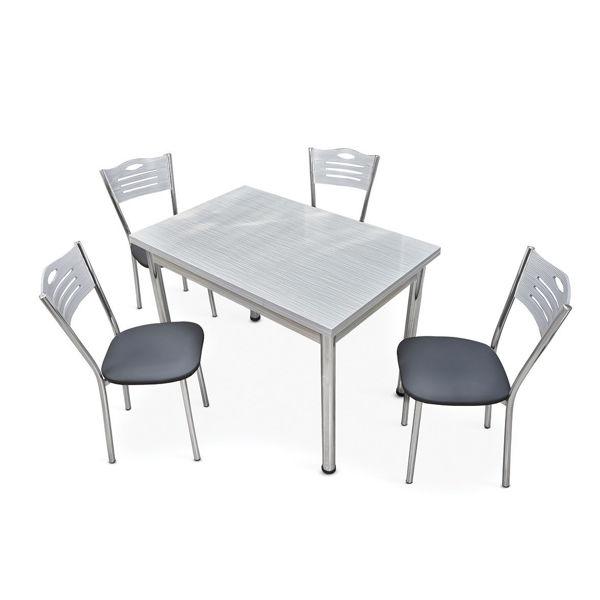 Снимка на Маса трапезна Соната 110-170x70x75 см - цвят Lisbon без столове