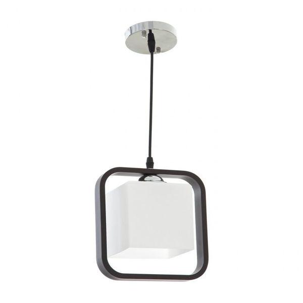 Снимка на Пендел стъклен 1-ца дърво куб EL 700/1P