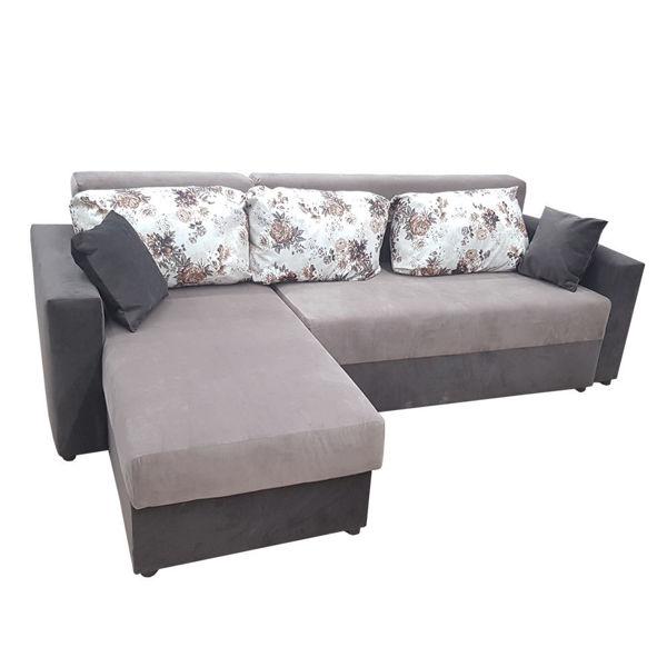 Снимка на Мека мебел Ъгъл Мини Тони 250х160 с подлакътник жакард