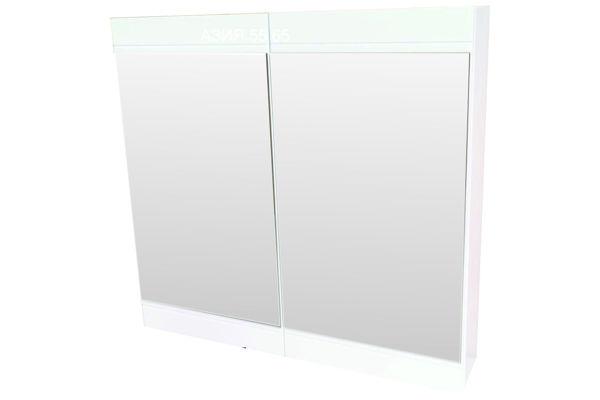 Снимка на Огледало за баня  АЗИЯ 55 - бял - PVC
