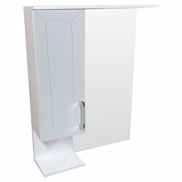 Снимка на Огледало за баня АНТОНИЯ 55 - бял - PVC 2021