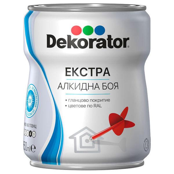 Снимка на Боя Екстра Алкидна Декоратор RAL 9005 Черна 650 мл